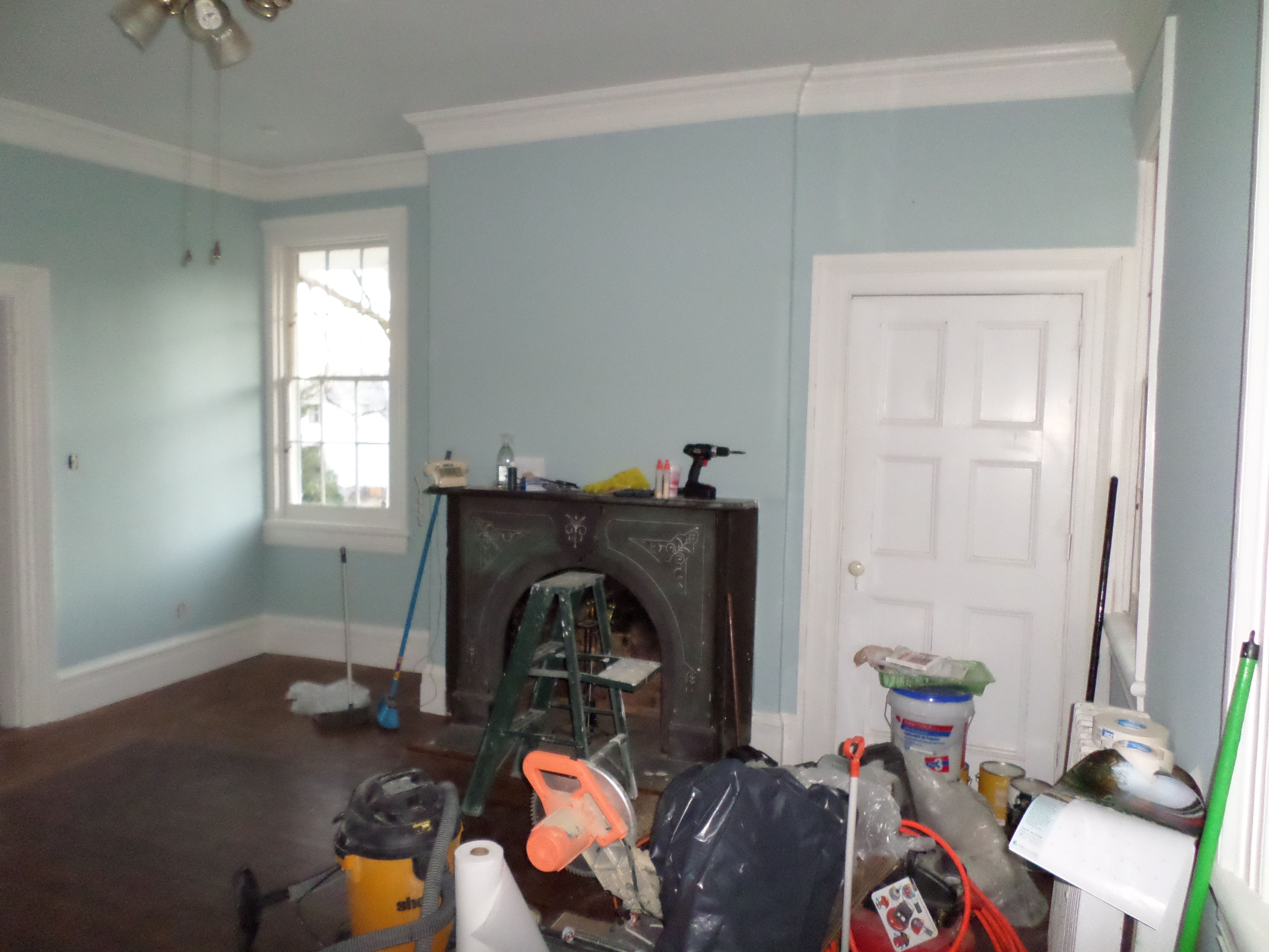 Yarmouth blue bedroom