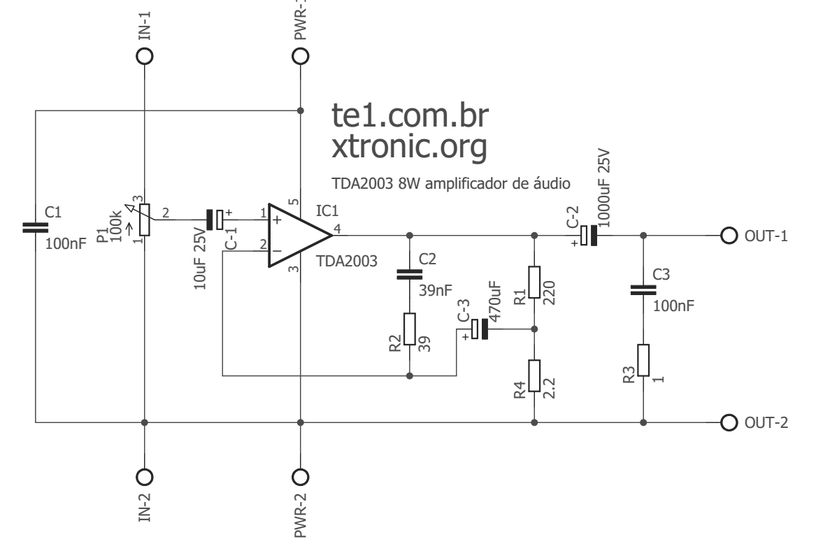 Tda Amplifier Circuit Diagram Page 2 Wiring And Schematics 32w Hi Fi Audio With Tda2050 Tda2003 Esq 700x465 Power Ic Circuits Automotive