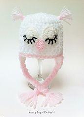 Ravelry: Owl Hat Pattern 1 pattern by Kerry Jayne Designs