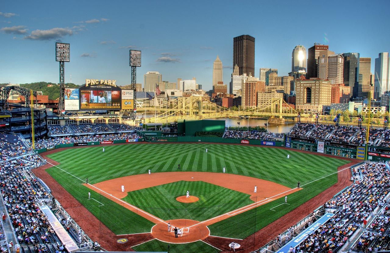 Pnc Park Pittsburgh Pa Home To The Pittsburgh Pirates The Best Modern Era Park In Mlb Major League Baseball Stadiums Pnc Park Baseball Stadium