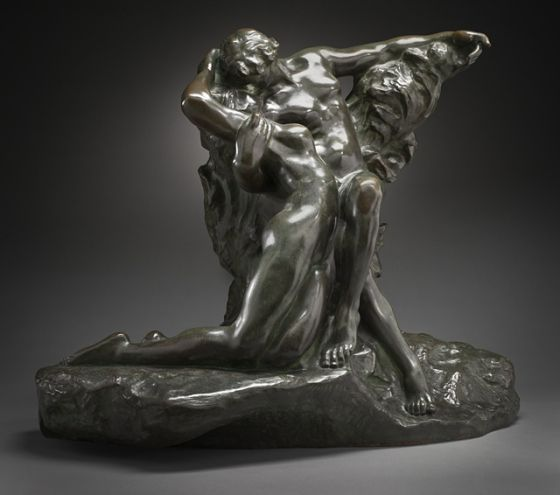 Auguste Rodin (France, 1840-1917), Eternal Spring, circa 1881-1884, cast before 1917 (?), Mr. and Mrs. Allan C. Balch Collection (M.45.3.476) #lacma #spring