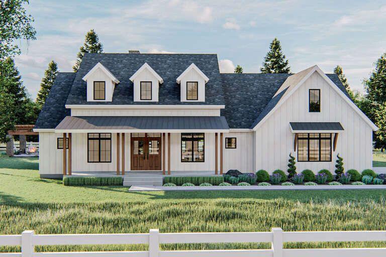 Modern Farmhouse House Plan 963-00415