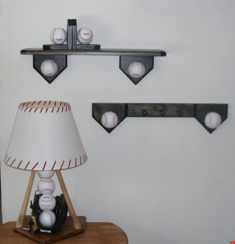Baseball Bedroom Collection Includes Lamp By Midwestclassiccrafts 13995