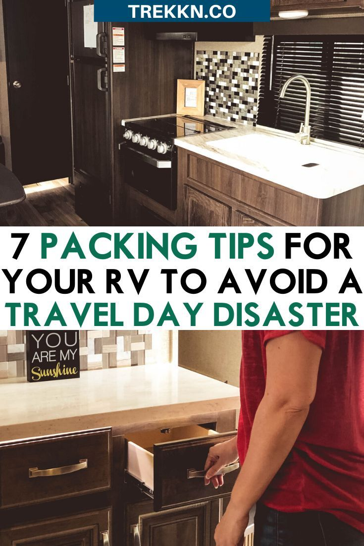 7 RV Packing Tips to Avoid a Disaster on Travel Days