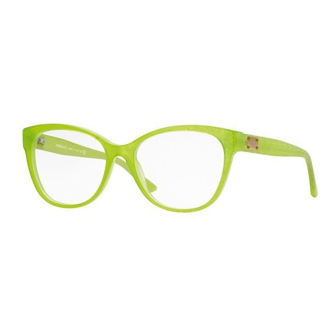 427c486e20c7 Versace 2014 Eye frames in Lime | Fashion | Versace eyeglasses ...