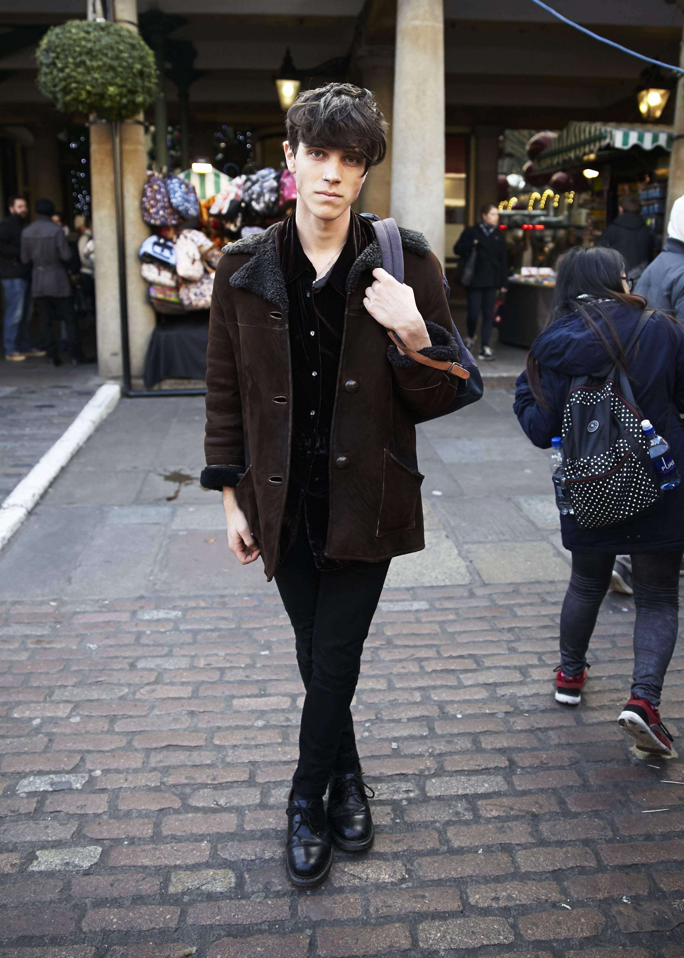 Men's London Street Style - December 2014