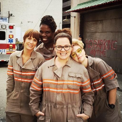 ghostbusters 2016 cast movies pinterest cosplay filme e