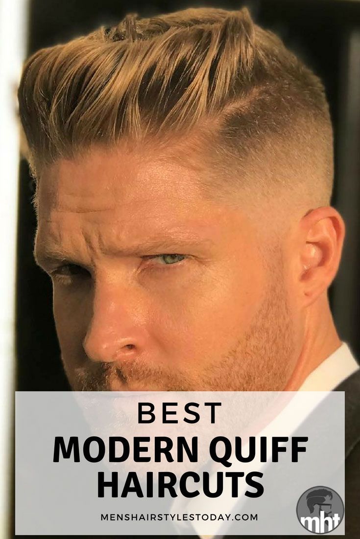 17 Quiff Haircuts For Men