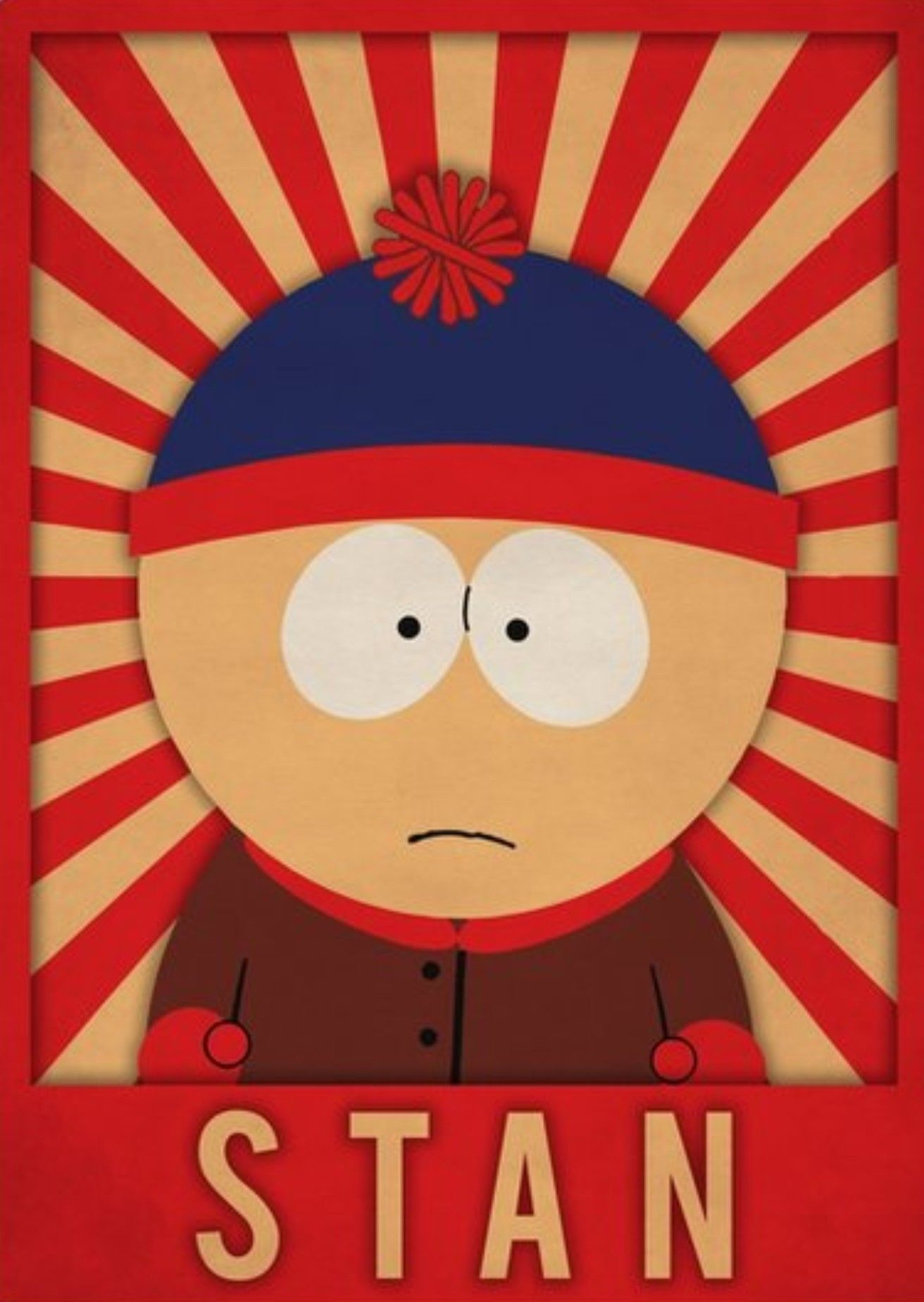 Stan Marsh South Park South Park Poster South Park Characters