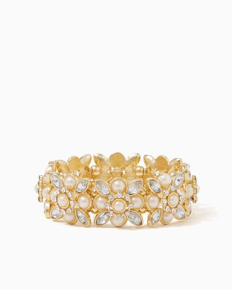 charming charlie Floral Cluster Bracelet UPC 400000166971