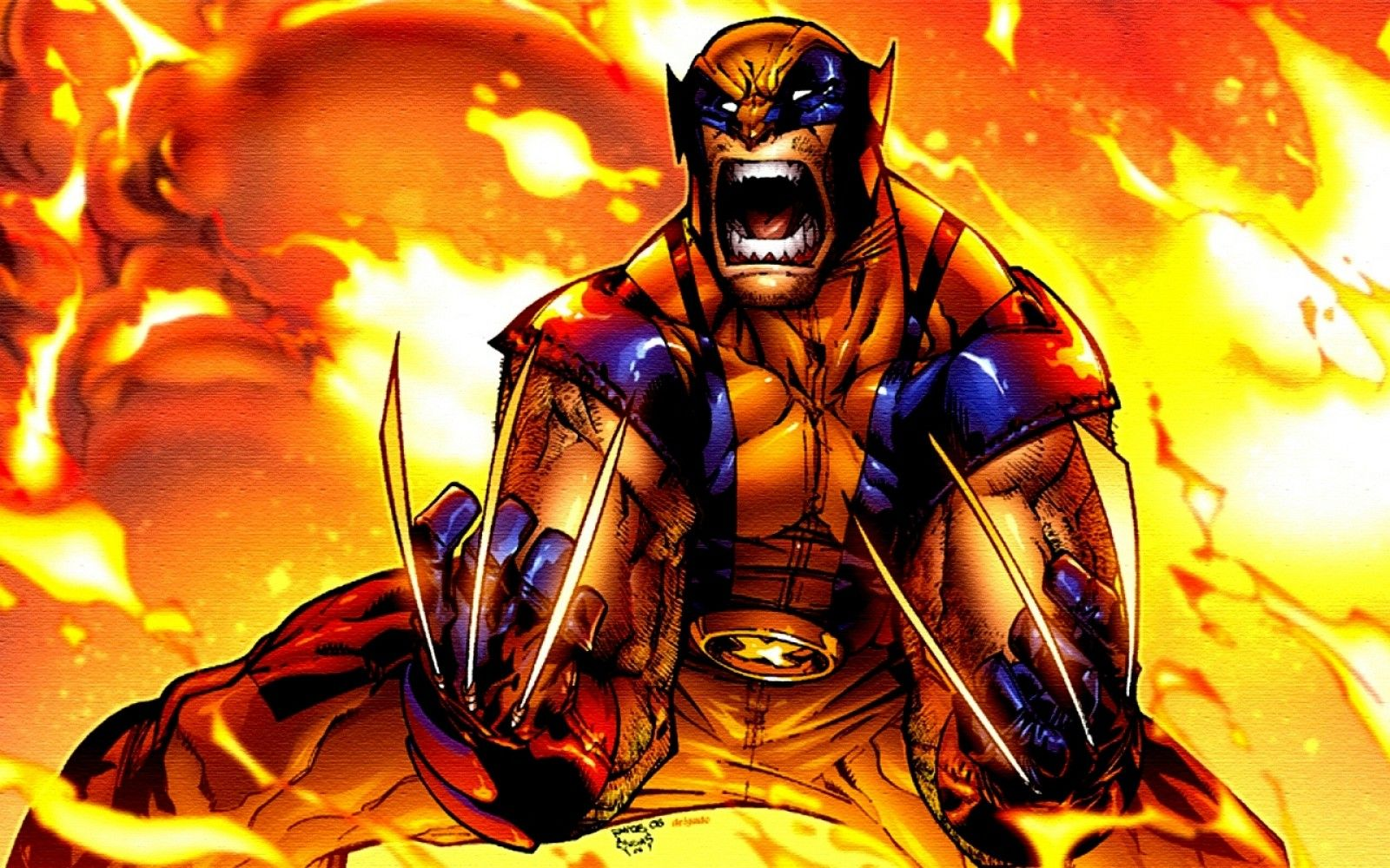 X-men Comic | Wolverine X Men comics HD wallpaper