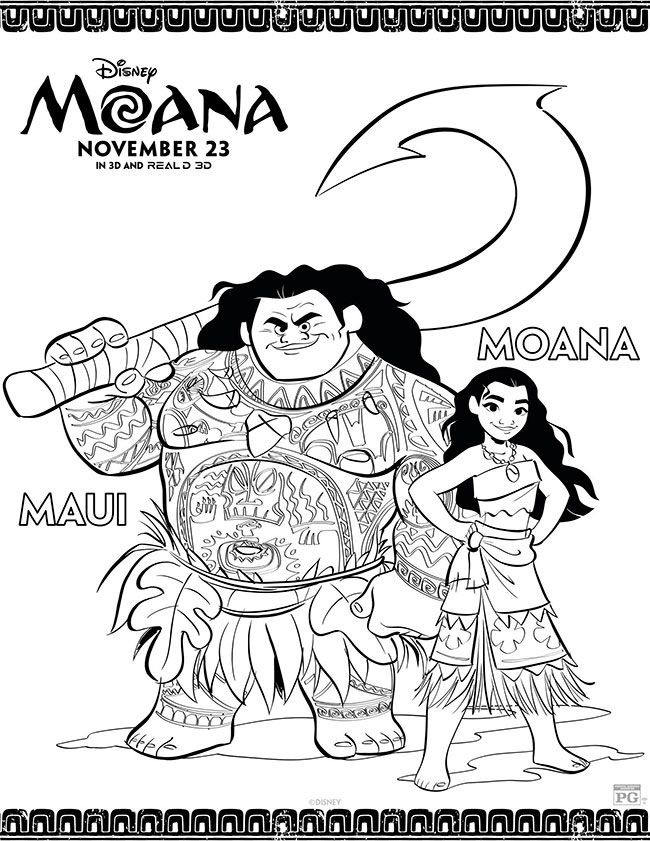 moana and maui coloring pages Moana Coloring Pages | coloring pages | Pinterest | Moana coloring  moana and maui coloring pages