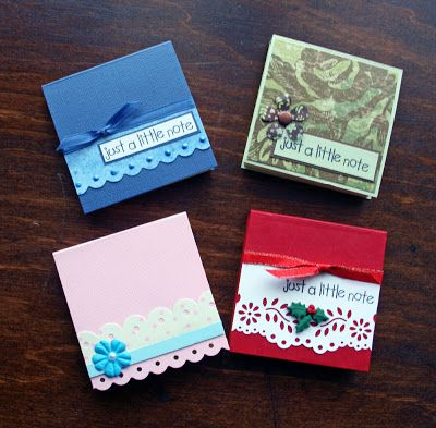 Ideas For Scrapbookers Last Minute Gifts Gift Ideas For Holidays