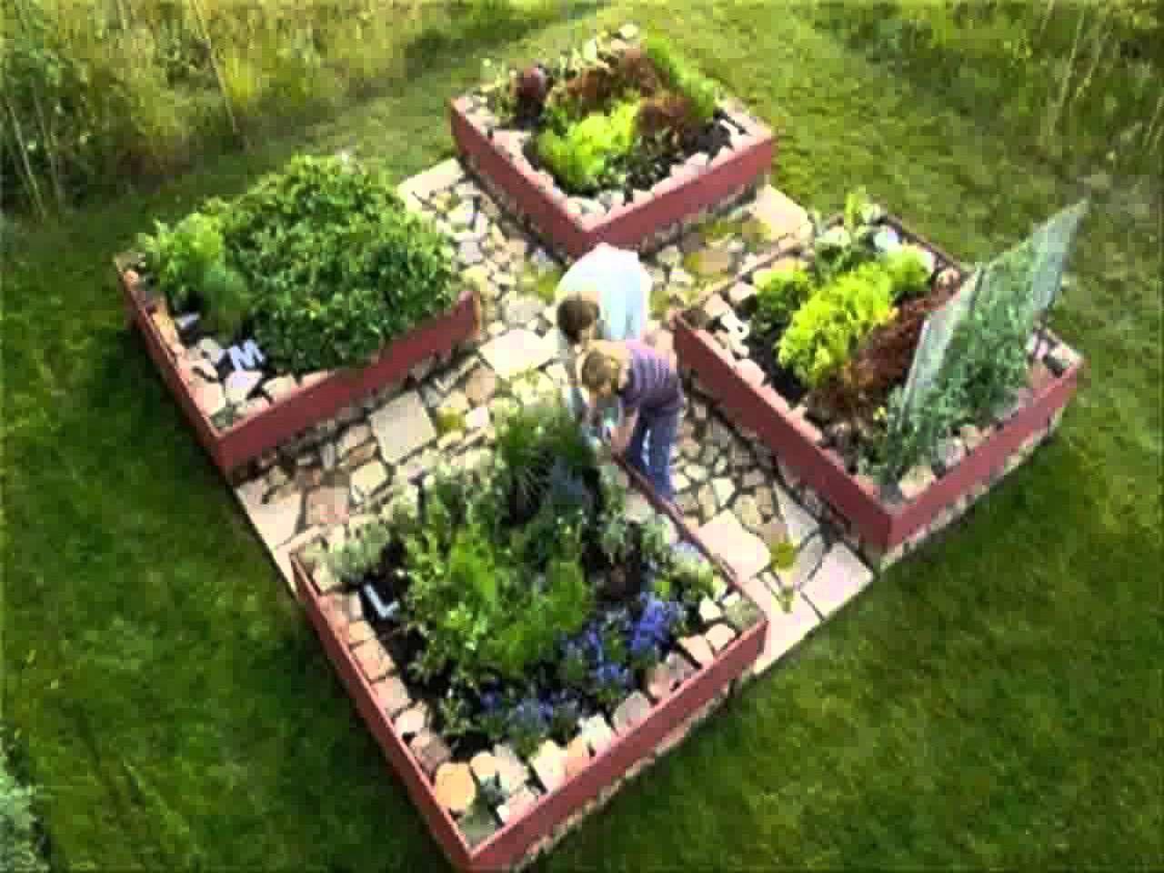 Cute Little Raised Bed Garden Garden Layout Vegetable Backyard Vegetable Gardens Vegetable Garden Design