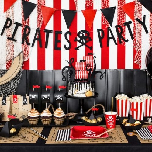 Photo of PIRATES PARTY DECORATIVE BANNER