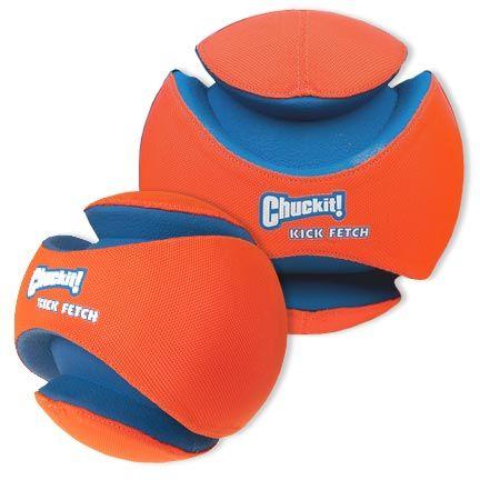 Chuckit Kick Fetch Ball Kicks Dog Football Dog Toys