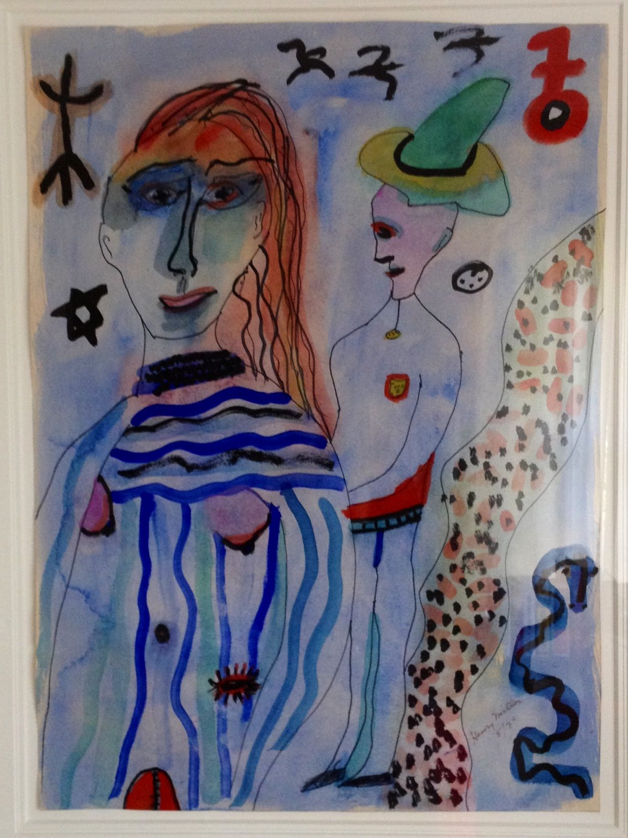 Henry Miller 1974 Painting In Personal