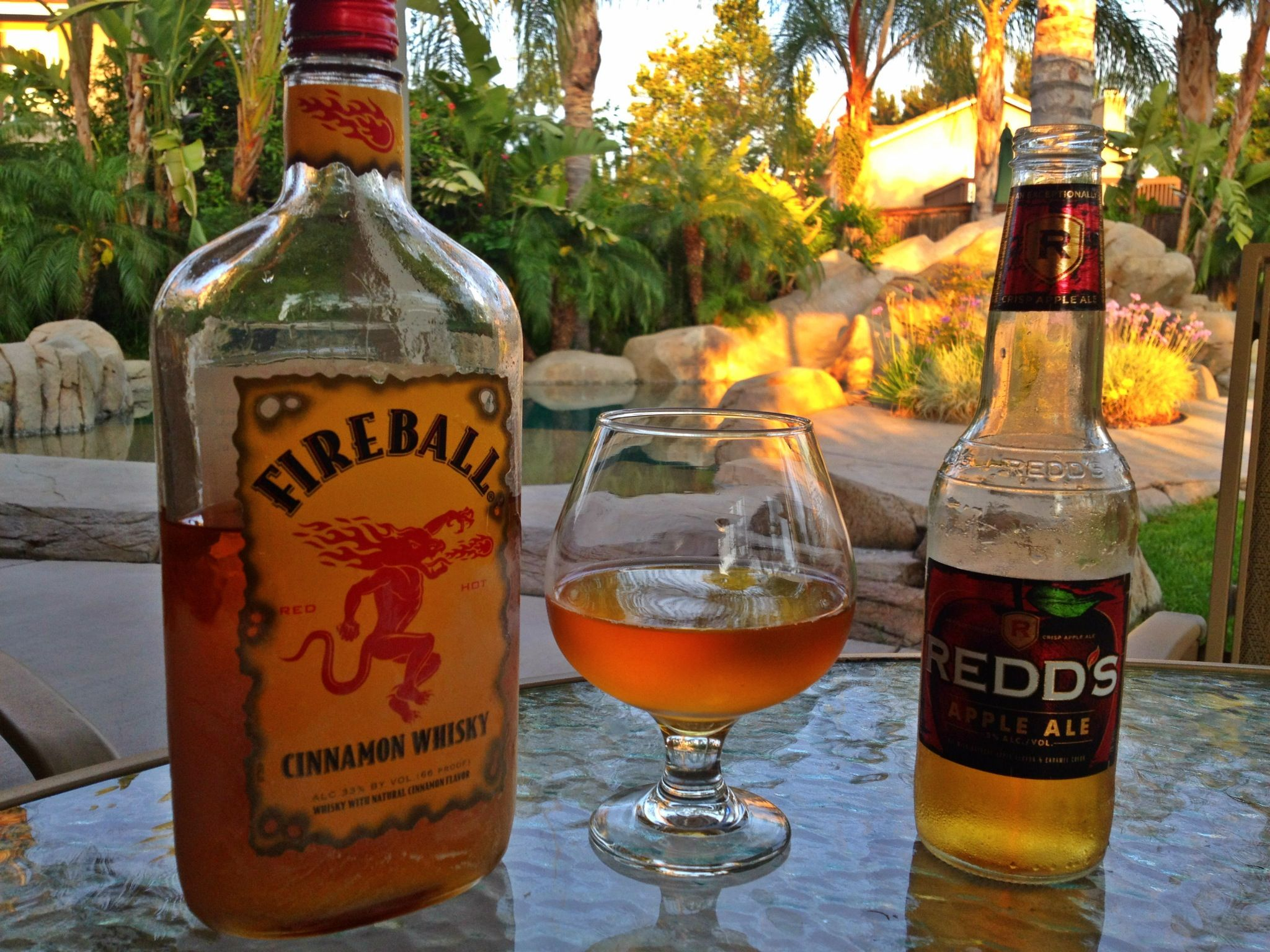 Redd's Apple Ale and Fireball Whisky | Drinks and Smoothies