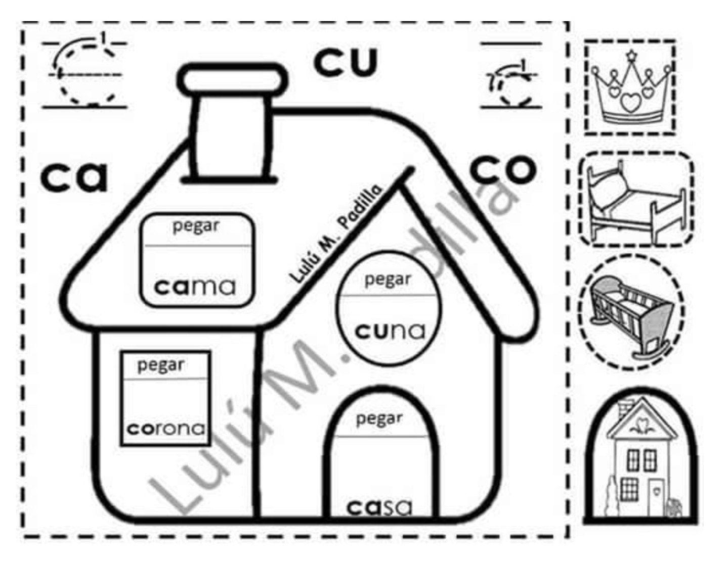 Material Interactivo De Silabas Para Preescolar Y Primaria