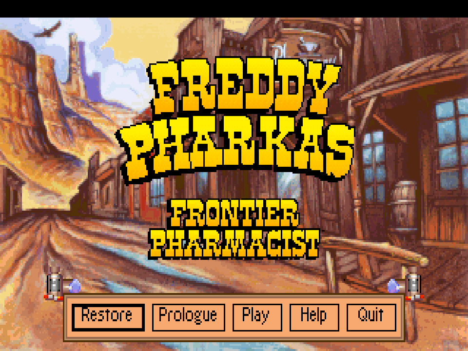 Continuing Our Series Of Why 3minutestomidnight Is A Point And Click Adventure Game Freddy Pharkas Frontier Pharmacist A Humorous Adventure Game Set In The