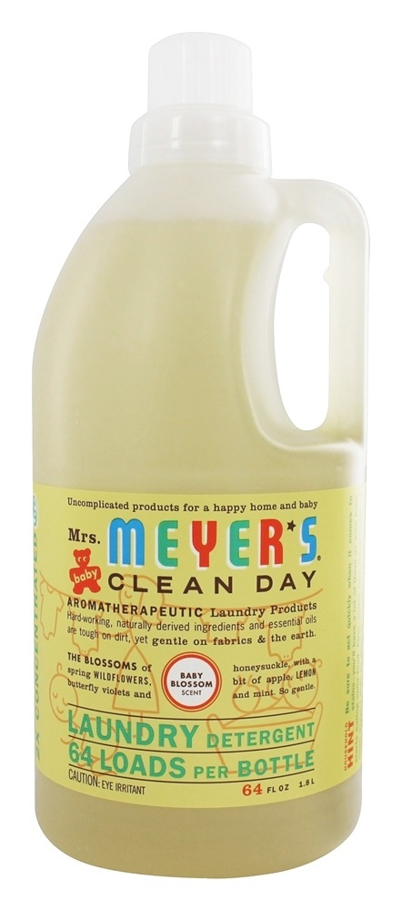 Clean Day Laundry Detergent Concentrated 64 Loads Baby Blossom