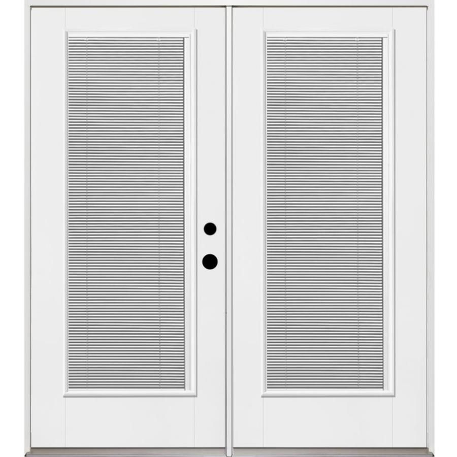 Lowes Therma Tru Patio Doors: Benchmark By Therma-Tru 70.5625-in Blinds Between The