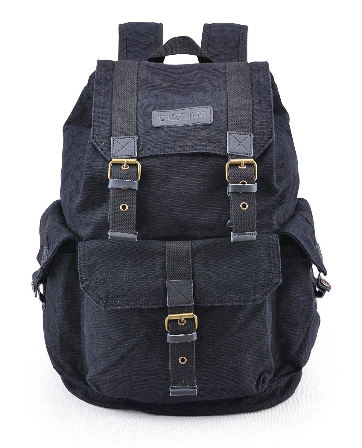 c0b38cf41 Gootium 21101 Specially High Density Thick Canvas Backpack Rucksack ***  Find out more about the great product at the image link.