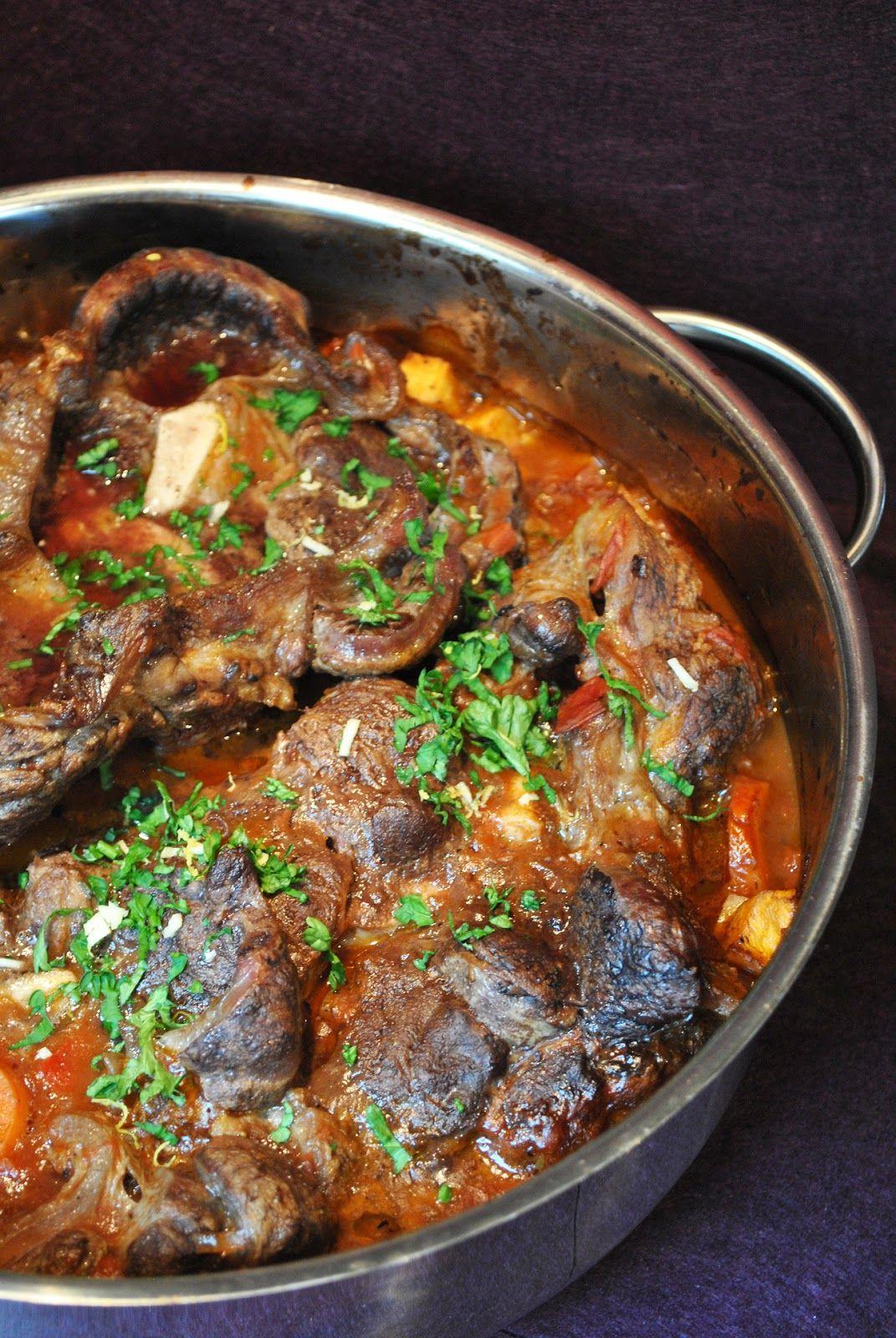 Küchenzaubereien Ossobuco Alla Milanese Fleisch Gerichte
