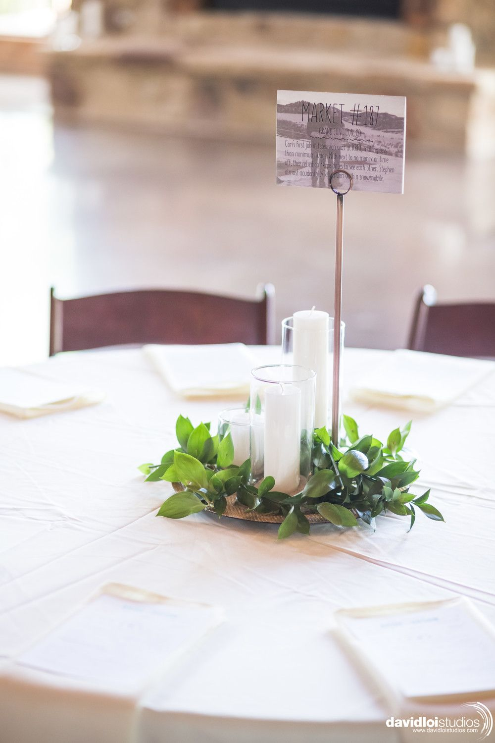 Summer Wedding Table Centerpiece Wedding Centerpiece With
