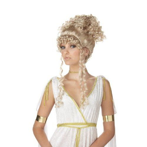 California Costumes Women's Athenian Goddess Wig,Multi,One Size