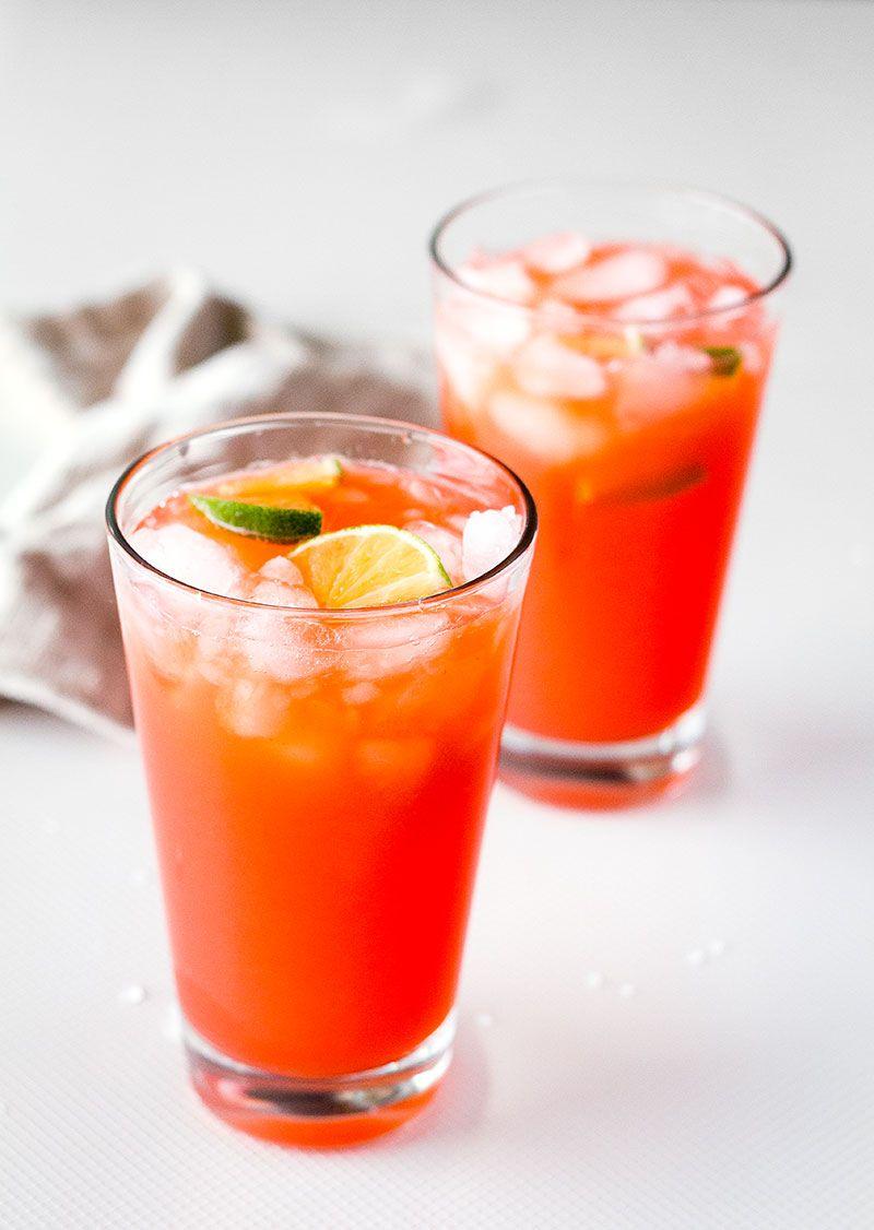 Lime Strawberry Margaritas Margarita Recipes Strawberry Margarita Easy Margarita Recipe