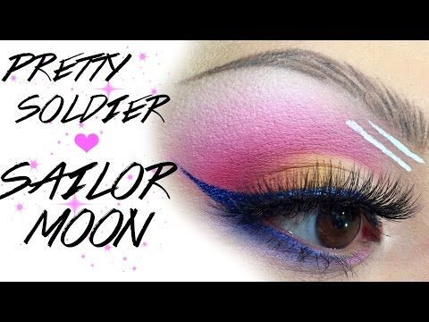Pretty Soldier Sailor Moon Inspired Makeup Sailor Moon Makeup Youtube Makeup Makeup Inspiration