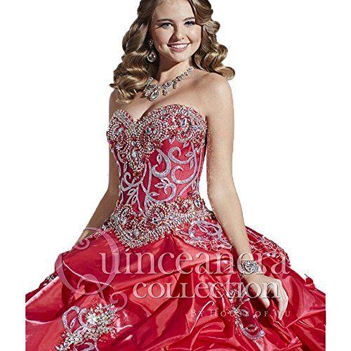 Angela Women's Sweetheart Crystals Ball Gowns Sweet 16 Quinceanera Dresses  http://www.artydress.com/angela-womens-sweetheart-crystals-ball-gowns-sweet-16-quinceanera-dresses/