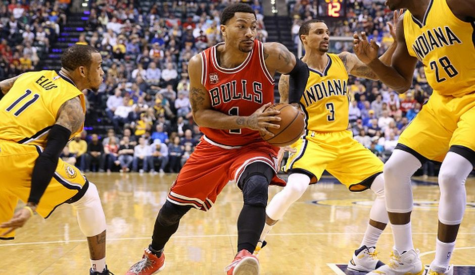 8ce721b569a NBA Rumors  Chicago Bulls Trading Derrick Rose To Indiana Pacers For George  Hill And Draft Pick