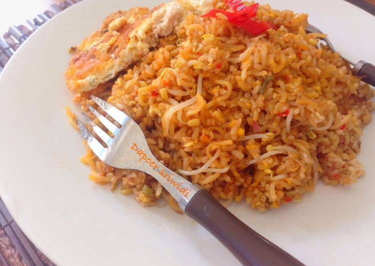 Resep Nasi Goreng Mawut Oleh Dapoer Sriwidi Resep Nasi Goreng Kecambah Nasi