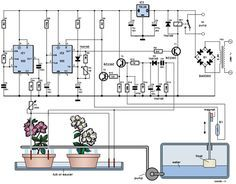 free electronic circuits project diagram and schematics science rh pinterest co uk