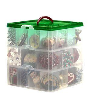 7 Brilliant Christmas Decoration Storage Ideas Christmas Ornament Storage Ornament Storage Box Holiday Storage