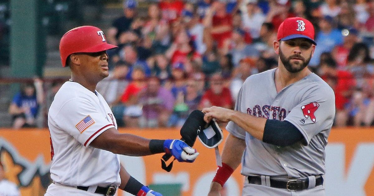 ExRanger Mitch Moreland on his 'bittersweet' return to