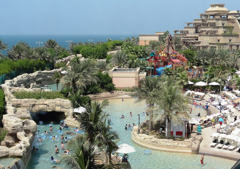 Aquaventure Waterpark Dubai photography
