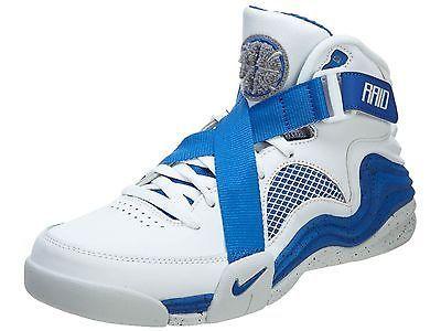 NIKE RAID 654480 100 White/BLUE Size 12