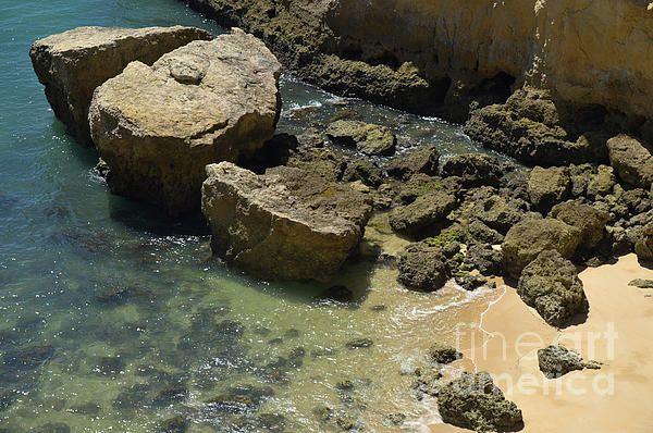 #portugal #summer #sea #broken #brokeninhalf #rock