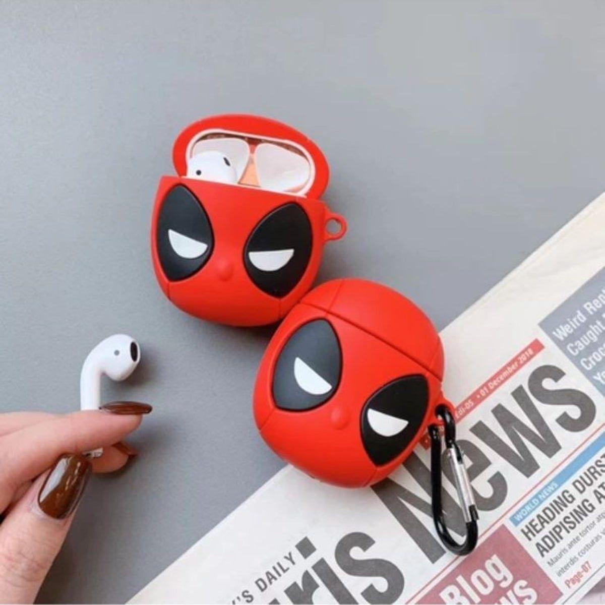Cute deadpool airpod case cover airpod case case