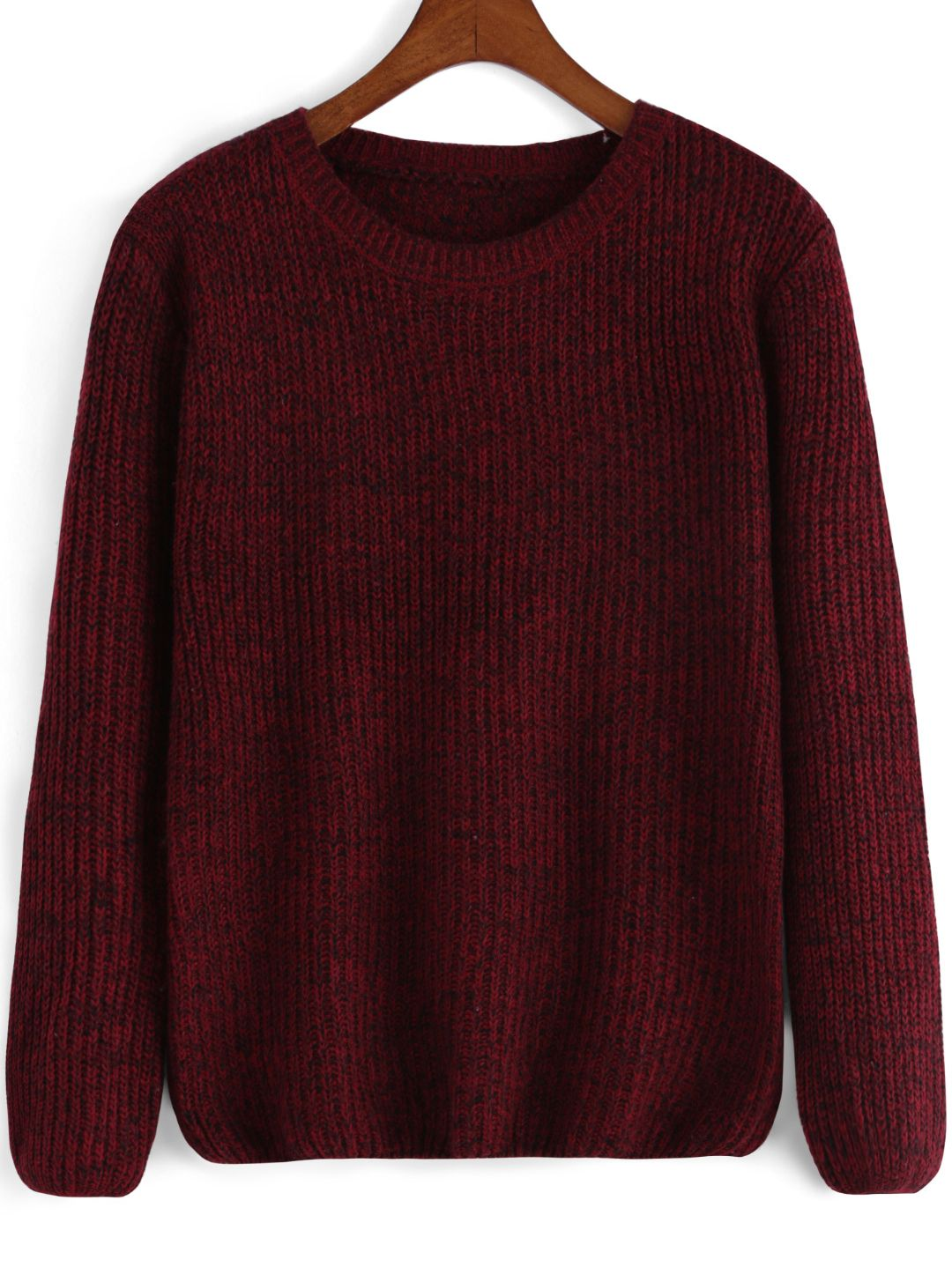 Time for knitwear again !Pick short pullover sweater for the ends ...