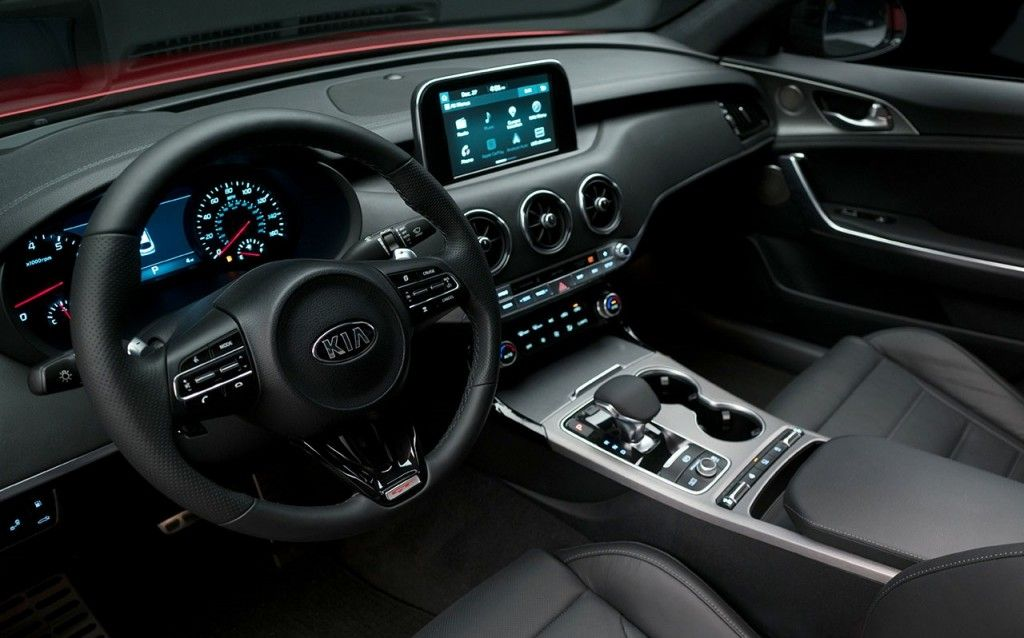 2018 Kia Stinger Wins 10 Best Interiors Trophy From Wardsauto Kia Stinger Kia Stinger