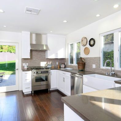 Los Angeles Caesarstone Oyster Design Pictures Remodel Decor And Enchanting Los Angeles Kitchen Remodeling Concept Property