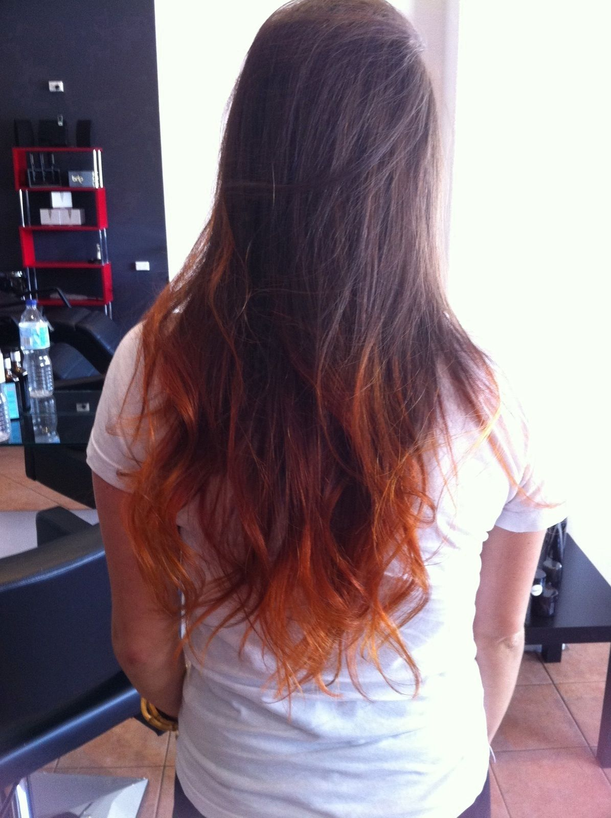 Copper Dip Dye Hair Beauty Long Hair Styles Hair Styles