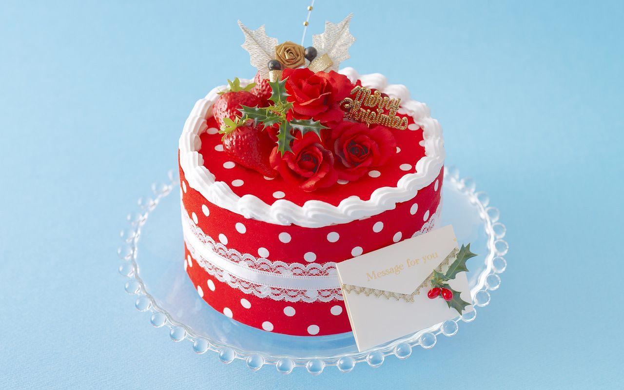 Открытка красивый торт