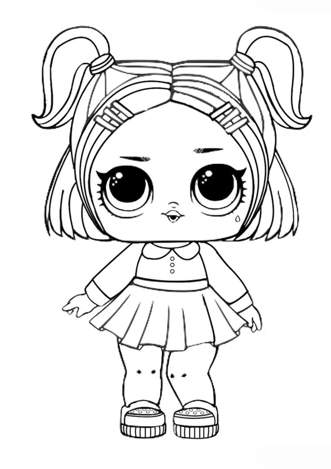 Pin By Julie Brossard On Kids In 2020 Lol Dolls Coloring Pages Cartoon Coloring Pages