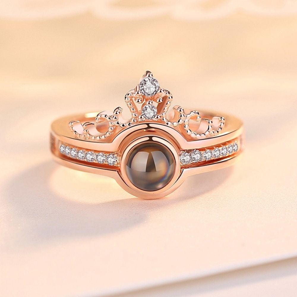 Best I Love You Projection Ring In 2020 I Love You Ring Jewelry Wedding Rings Love Ring