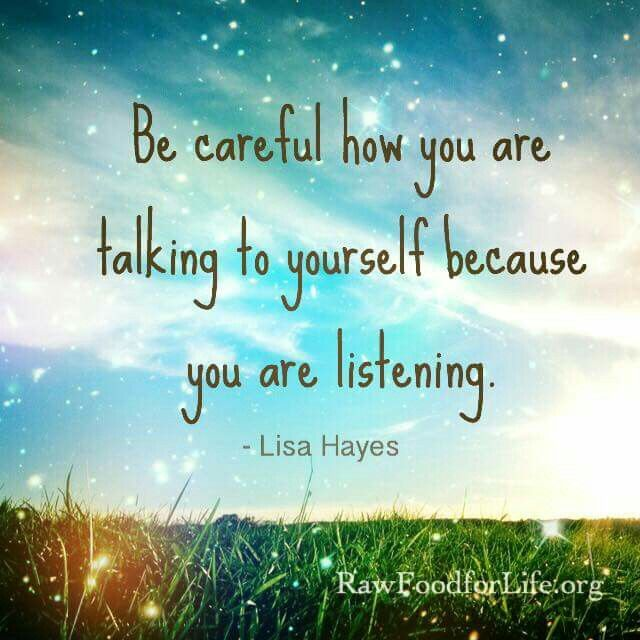 Talking Quotes, Negative Self